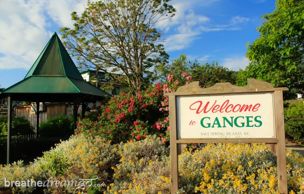 Gulf Islands, Salt Spring Island, Ganges
