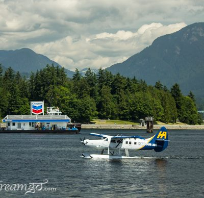 Flight of fancy over Vancouver's water world