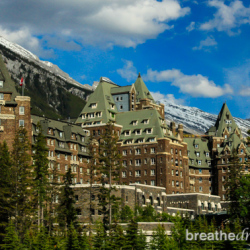 The Fairmont Banff Springs Hotel, Banff, Alberta, Canada