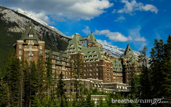 The Fairmont Banff Springs Hotel Alberta Canada