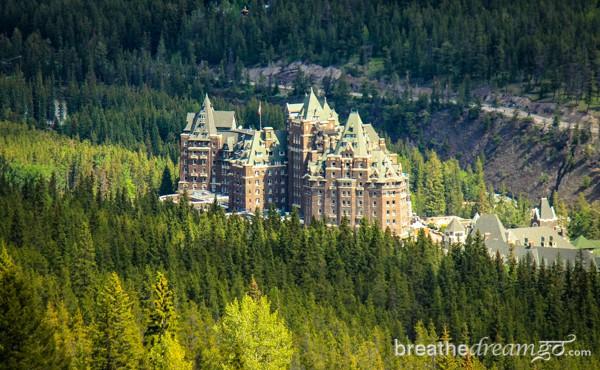 The Fairmont Banff Springs Hotel Alberta Canada