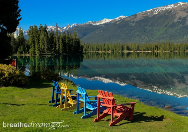 The Fairmont Jasper Park Lodge, Japser, Alberta, Canada