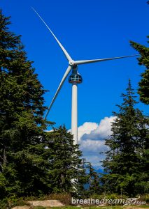 Grouse Mountain, Vancouver, British Columbia, Canada, Explore Canada, wind turbine, eye of the wind, viewing platform