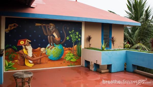 Kaiya House, Varkala Kerala, India, beach, guest house, hotel, India travel