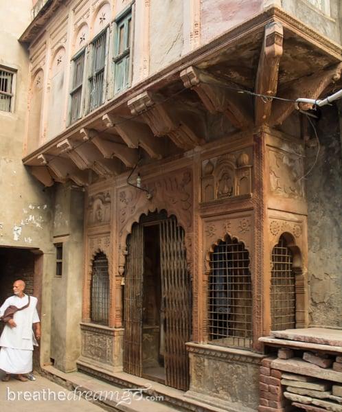Mirabai, expedition, Kensington Tours, India, Krishna, temple, Vrindavan, poet, female, woman
