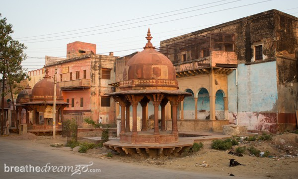 Mirabai, expedition, Kensington Tours, India, Krishna, temple, Vrindavan, poet, female, woman
