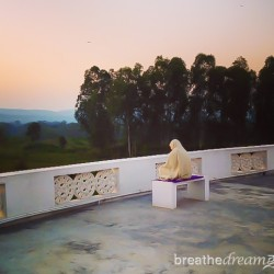 Aurovalley Asham, yoga, ashram, India, travel, sunrise, spirituality, peace, quiet