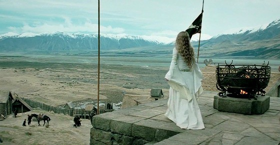 Eowyn in The Two Towers