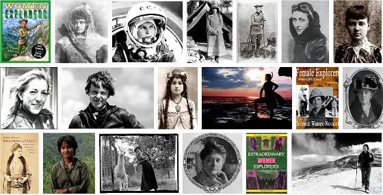 women, explorers