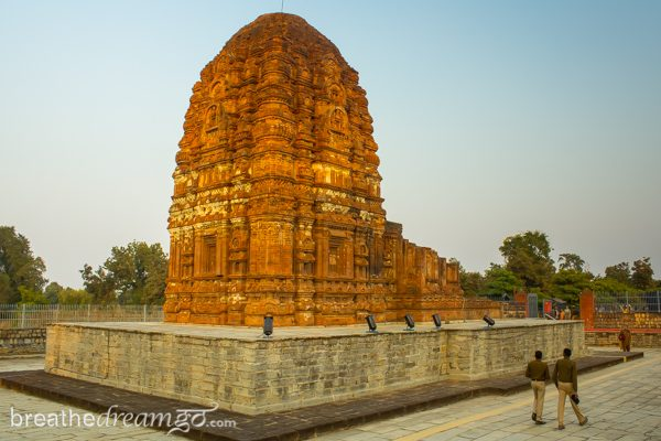 Laxman Temple in Sirpur, Chhattisgarh, India dates from the 7th century