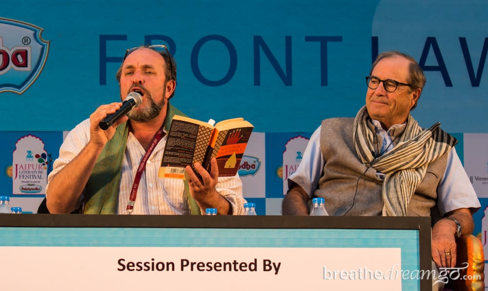 Paul Theroux, Jaipur Literature Festival. India, travel, writing, Jaipur, literature, festival, William Dalrymple