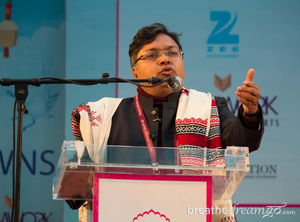 Devdutt Pattanaik, Jaipur Literature Festival. India, travel, writing, Jaipur, literature, festival