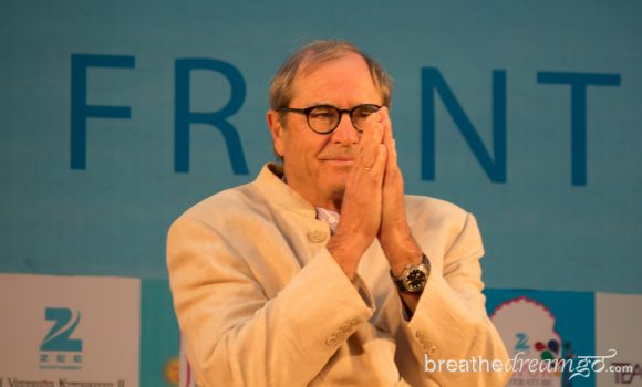 Paul Theroux, Jaipur Literature Festival. India, travel, writing, Jaipur, literature, festival