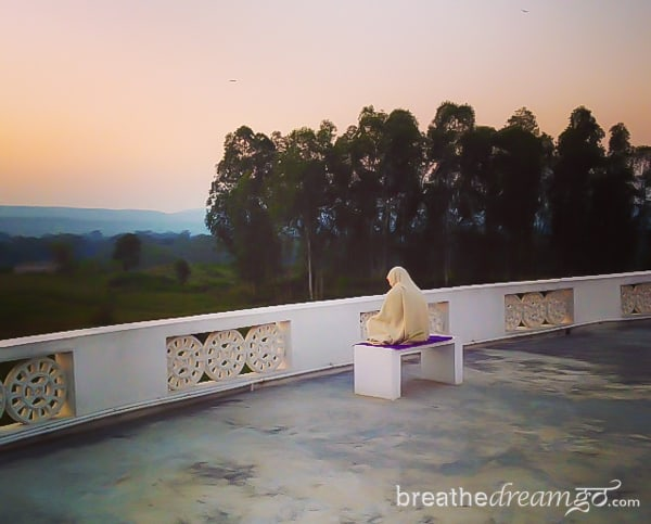 Aurovalley Ashram, India, silence, yoga, meditation, Himalayas, Rishikesh