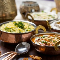 Delhi, India, food, Paratha, dal, rice