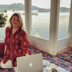 Mariellen Ward, travel, writer, blogger, Udaipur, India