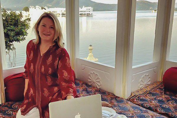 Mariellen Ward, travel, writer, blogger, Udaipur, India