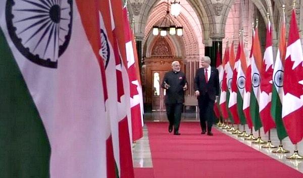 Narendra Modi, Stephen Harper, Canada, India, travell, Visa, e-Visa, Visa on arrival, tourism, tourist