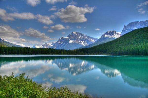 The Rocky Mountains, Alberta, Canada.