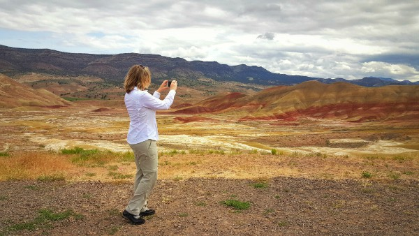 Samsung Galaxy S6, Painted Hills, Oregon, Gorilla Glass, United States, USA, travel, tourism