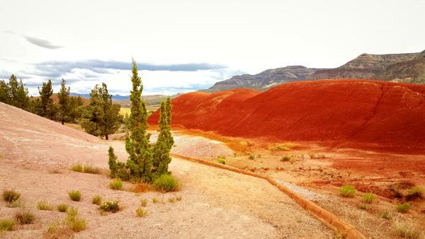 Samsung Galaxy S6, Painted Hills, Oregon, Gorilla Glass, United States, USA, travel, tourism