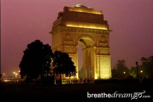India, Gate, Delhi, travel