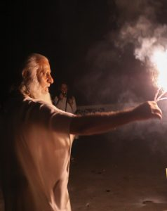 yoga, ashram, Aurovalley, Diwali, light, festival, fireworks, Rishikesh, travel, spiritual