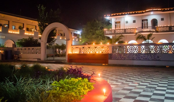 yoga, ashram, Aurovalley, Diwali, light, festival, fireworks, Rishikesh, travel, spiritual