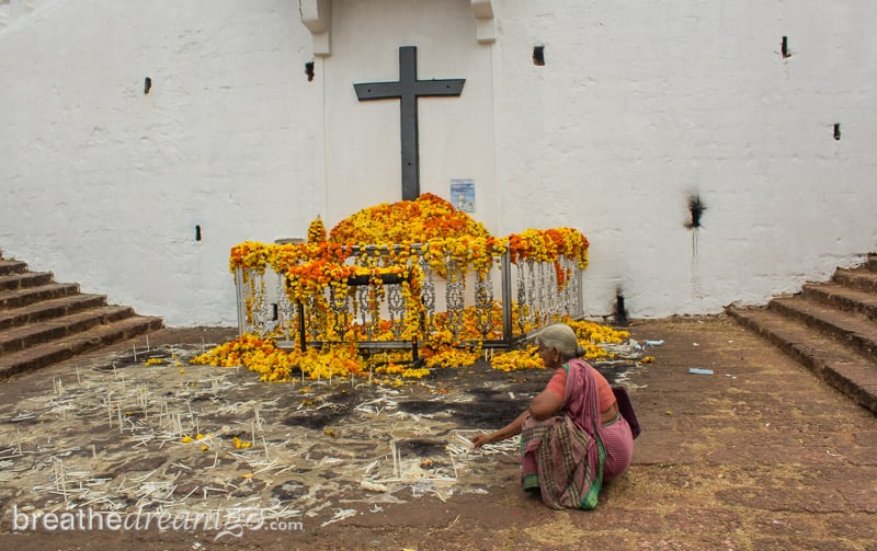 Goa, restaurant, travel, culture, attractions, India, church, Panjim, Fountainhas