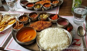 Goa, restaurant, travel, culture, attractions, India, food, thali, Portuguese, cuisine
