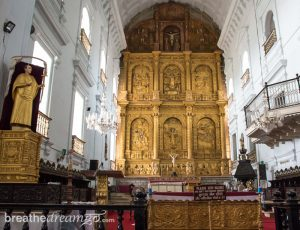 Goa, restaurant, travel, culture, attractions, India, church, Old Goa