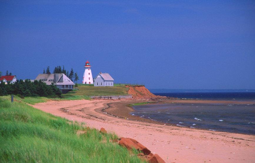 PEI, Canada, ocean, travel photography, sea, coastline,