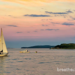 Nova Scotia, Canada, trip, journey, explore, visit, ocean, sea, Halifax, train, sunset, boat, sailboat
