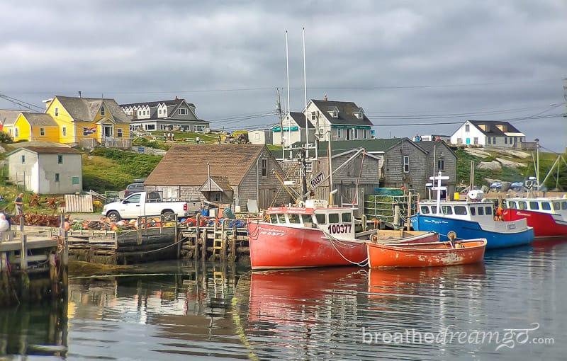 Nova Scotia, Canada, trip, journey, explore, visit, ocean, sea, Halifax, train, Peggy's Cove