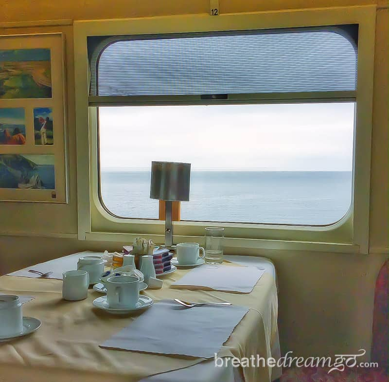 Nova Scotia, Canada, trip, journey, explore, visit, ocean, sea, Halifax, train, dining, sleeper, Via Rail