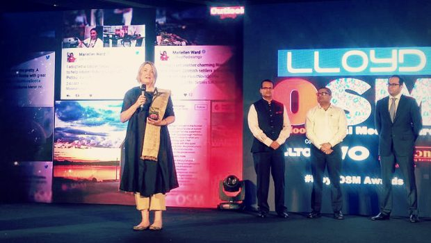 Lloyd OSM Award, Traveller of the Year, India, blogging, travel, writing, Mariellen Ward, Breathedreamgo