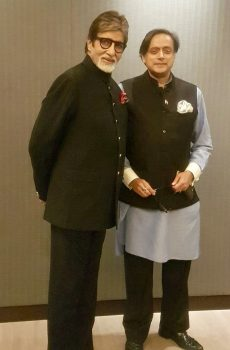 Amitabh Bachchan, Shashi Tharoor, The Big B, Lloyd OSM Awards, Outllok