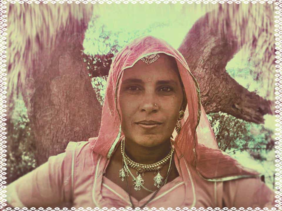 woman, women, India, International Women's Day, Woman's Day, Danielle Winter, Bishnoi, tree, hugger