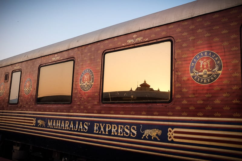 Maharaja Express train coach, luxury train in India