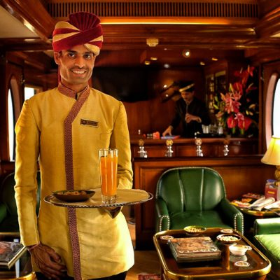 What it's like to travel the Maharaja Express train