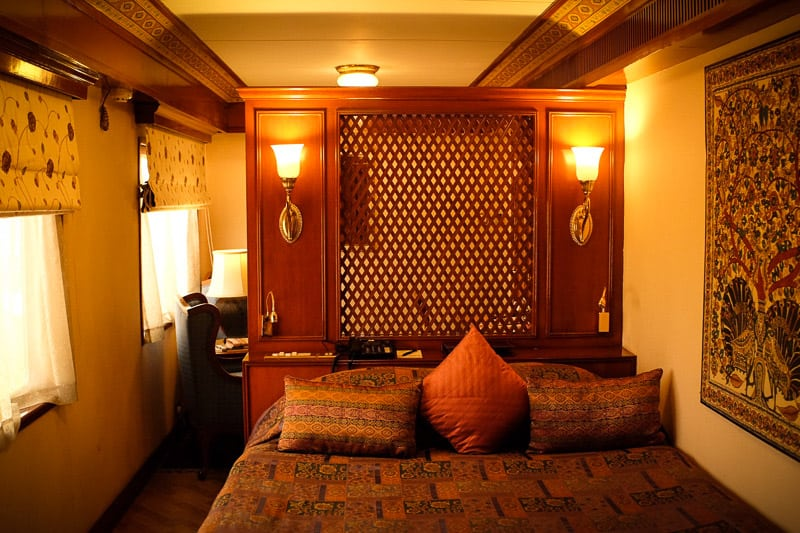 Maharaja Express train suite, luxury train in India