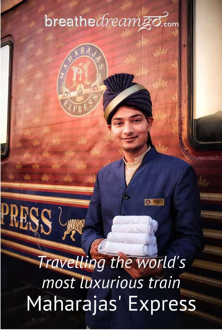 What it's like to travel the Maharajas' Express train, the world's most luxurious train