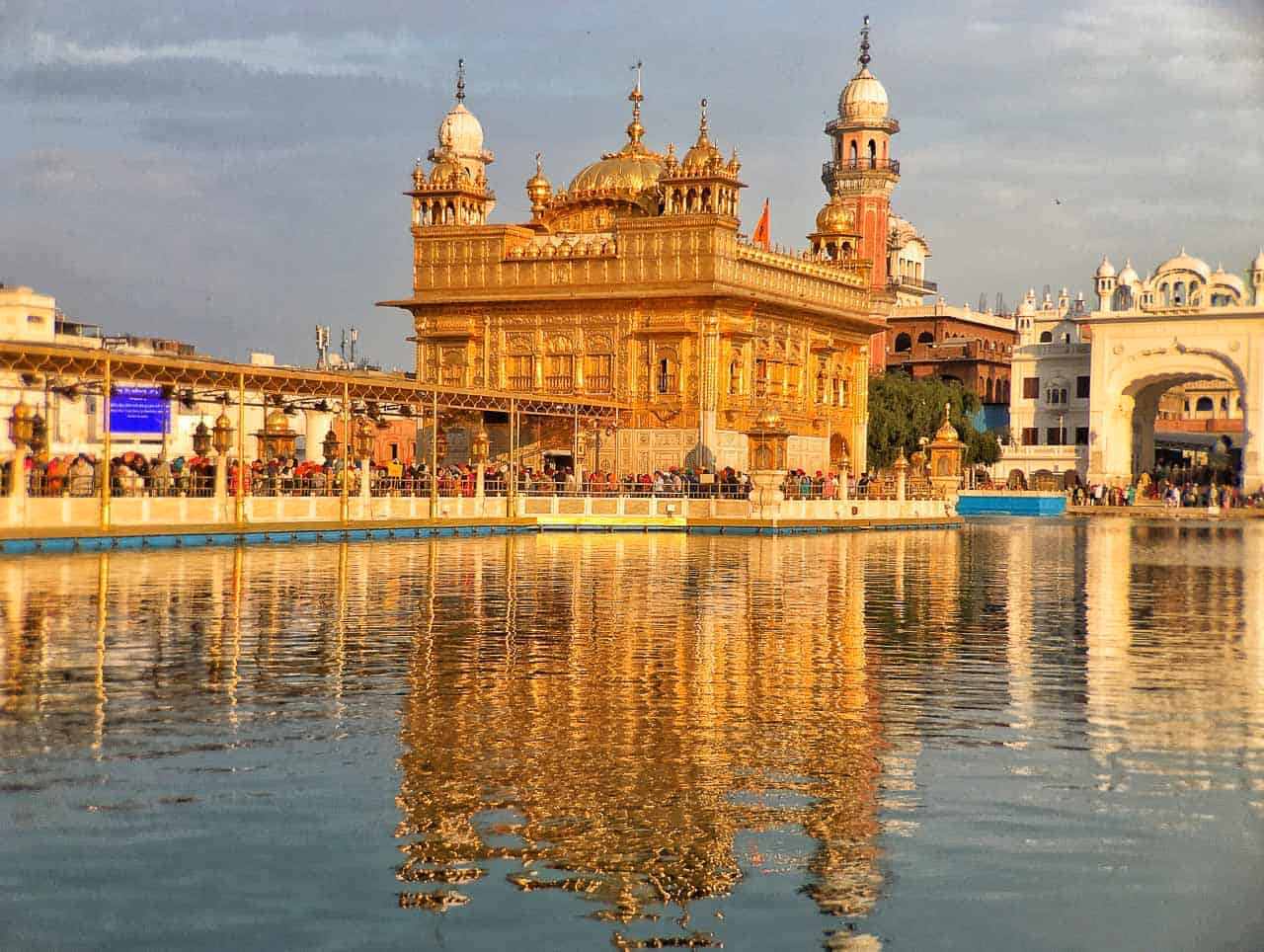 Golden Temple at the Harmandir Sahib