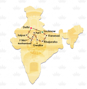 India destinations, tourist places in India, Maharajas's Express, luxury train
