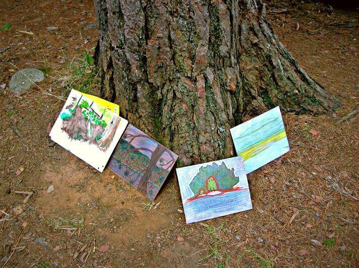 plein air painting, Algonquin Park, Ontario Parks, Ontario, Canada