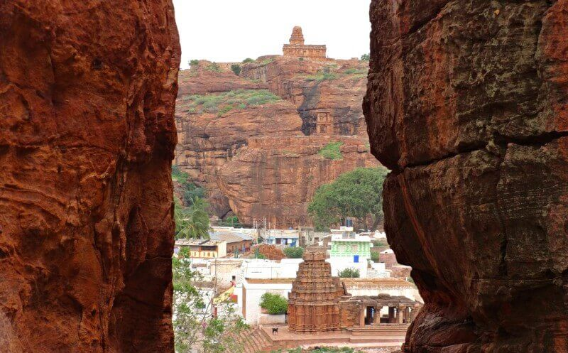 India landmarks, monuments of India, Badami Caves