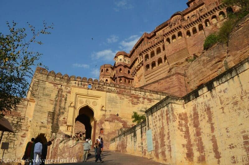 India landmarks, monuments of India, Mehrangarh Fort