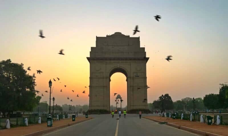 India landmarks, monuments of India, India Gate