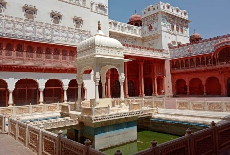India landmarks, monuments of India, Junagarh Fort