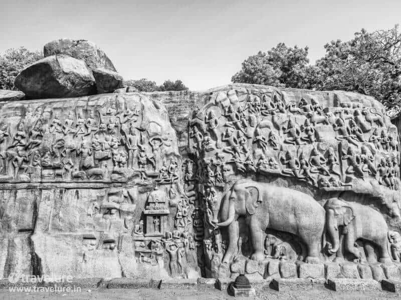 India landmarks, monuments of India, Mahabalipuram